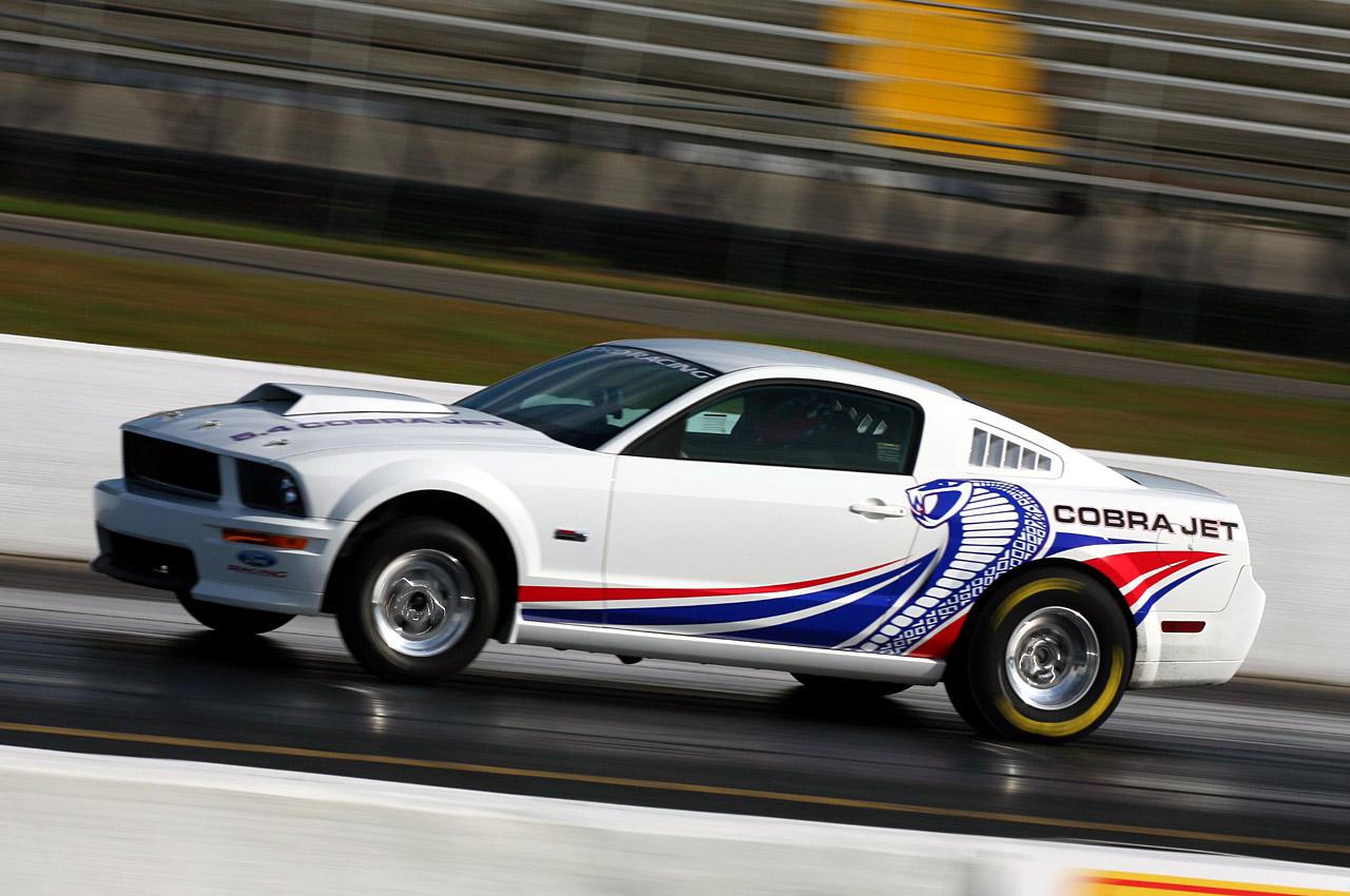 Mustang cobra jet logo - photo#26