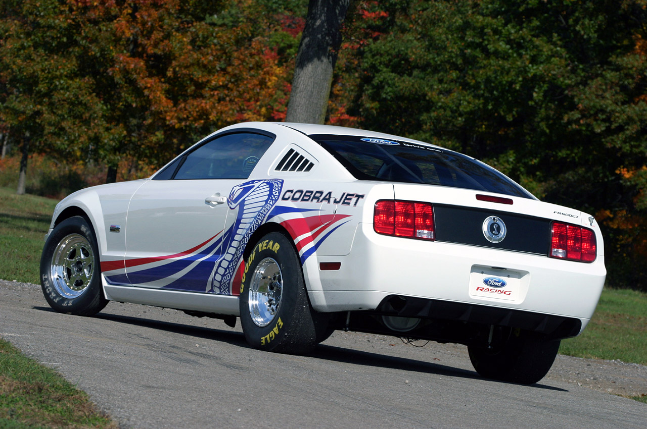 cobra mustang jet 2008 sema previews autoevolution