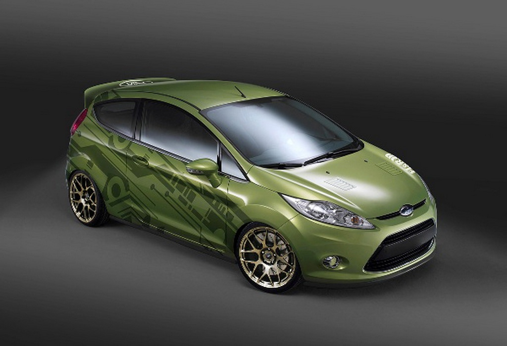 SEMA 2010 Custom Ford Fiestas Previewed - autoevolution
