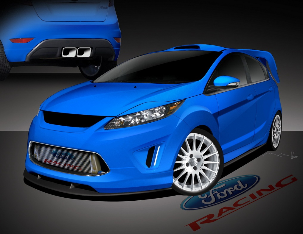 Sema 2010 Custom Ford Fiestas Previewed Autoevolution
