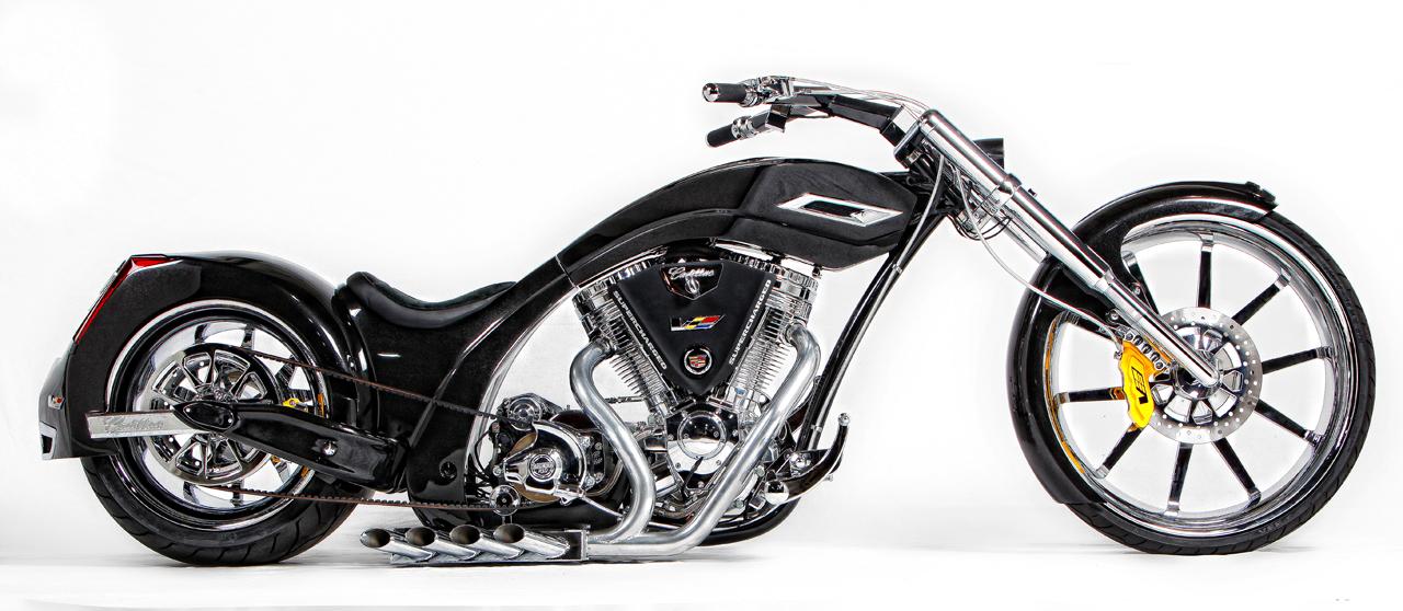 Senior vs junior american chopper cadillac bikes up for for Pol junior design
