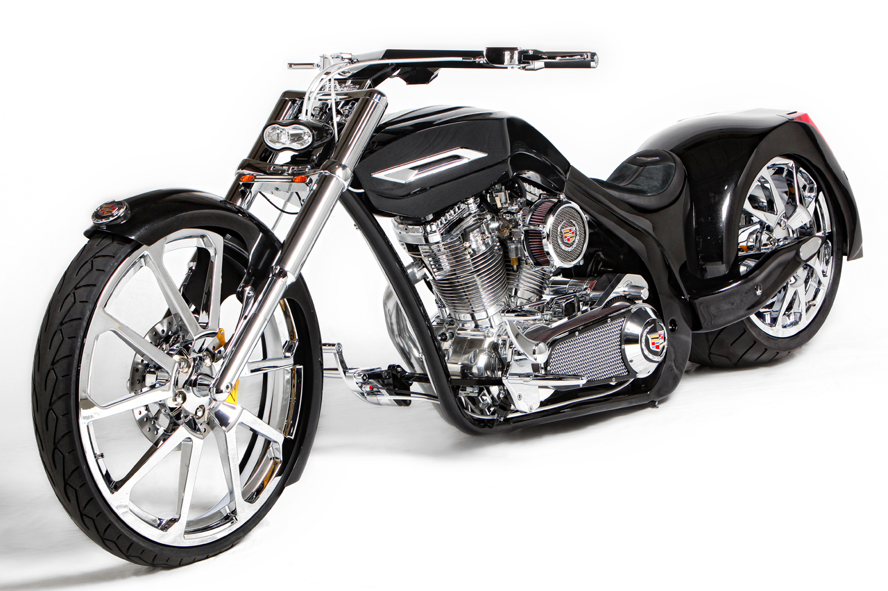 Senior vs. Junior American Chopper Cadillac Bikes Up for ...