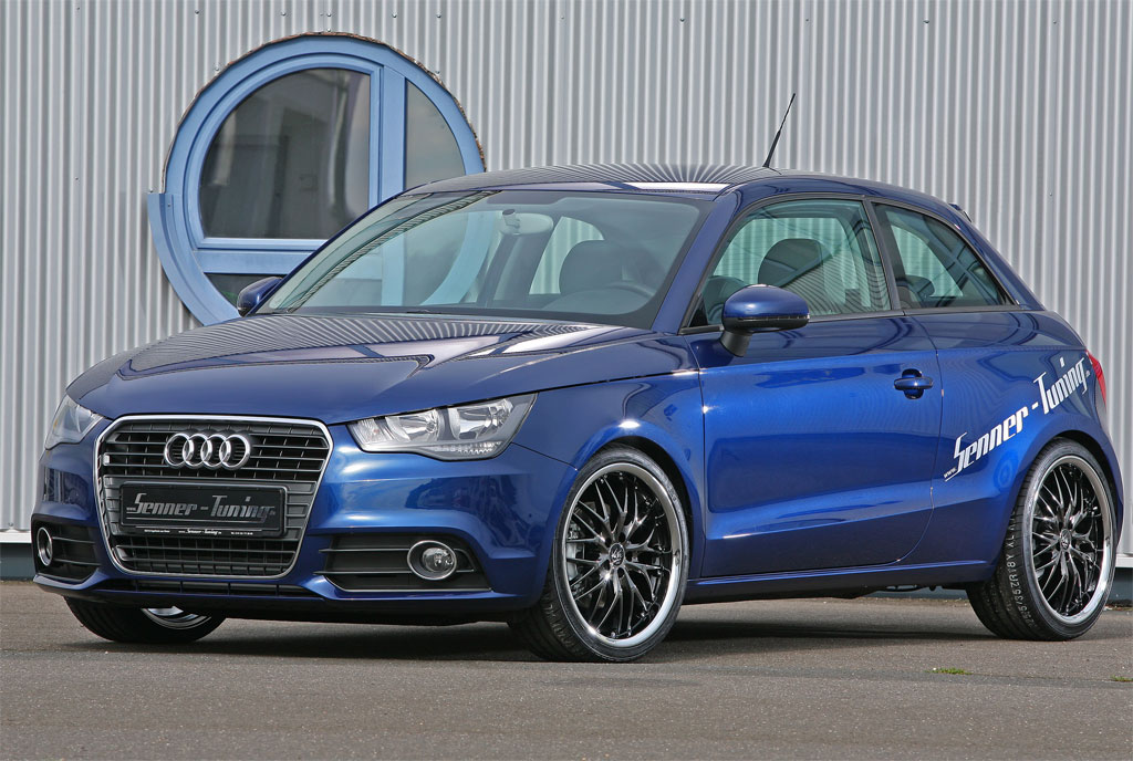 senner audi a1 revealed autoevolution. Black Bedroom Furniture Sets. Home Design Ideas