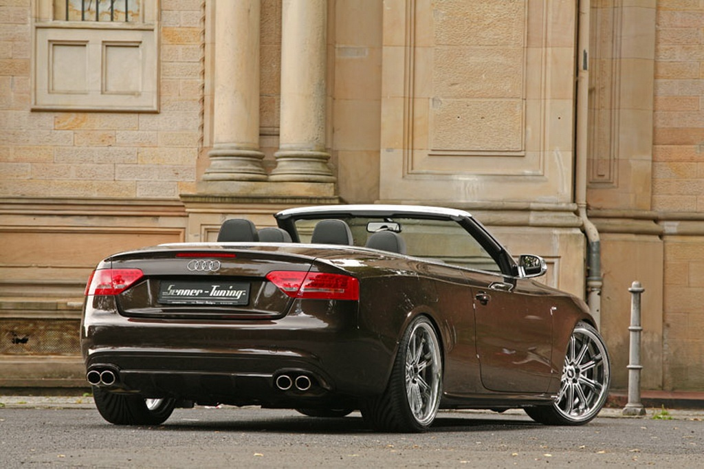senner audi a5 cabrio released autoevolution. Black Bedroom Furniture Sets. Home Design Ideas