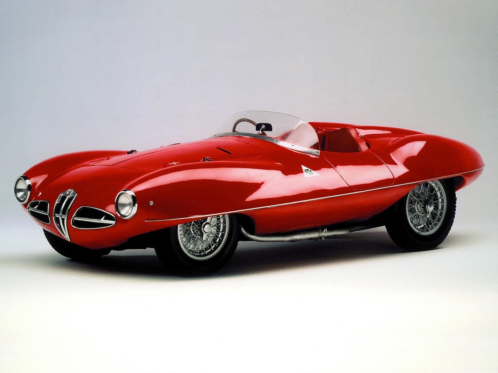 Alfa Romeo Disco Volante By Pininfarina