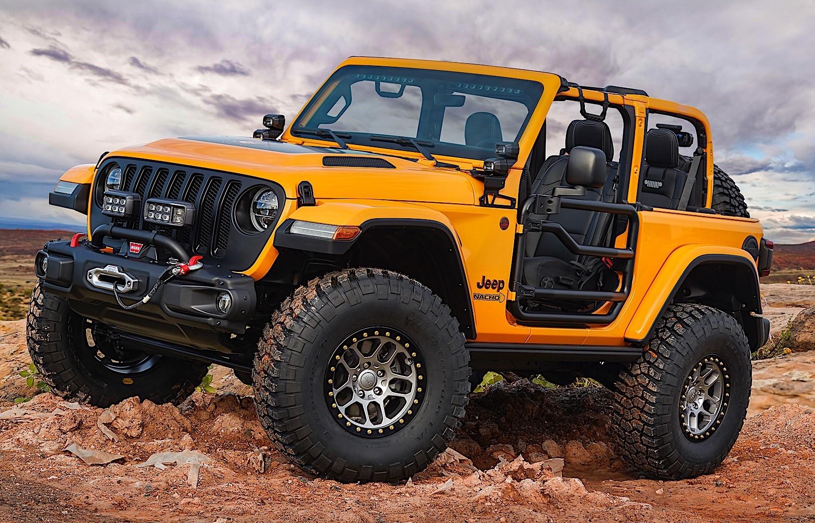 Jeep Wrangler Renegade by Mopar Presented - autoevolution