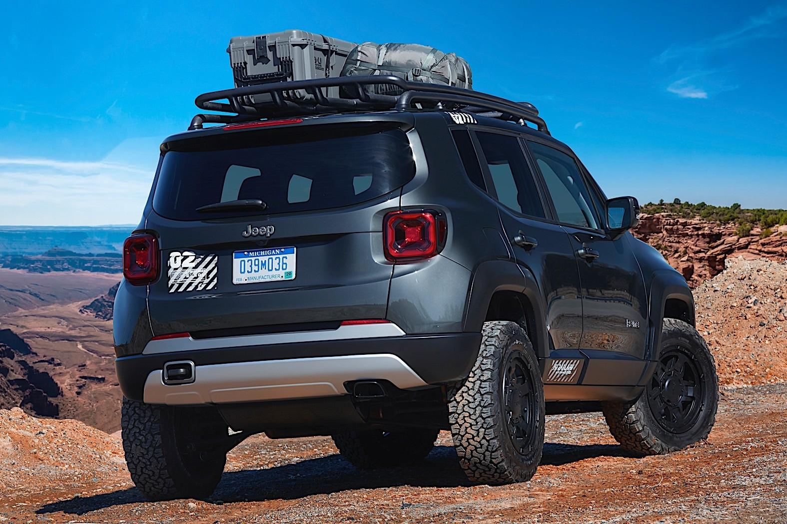 jeep wrangler renegade by mopar presented autoevolution. Black Bedroom Furniture Sets. Home Design Ideas