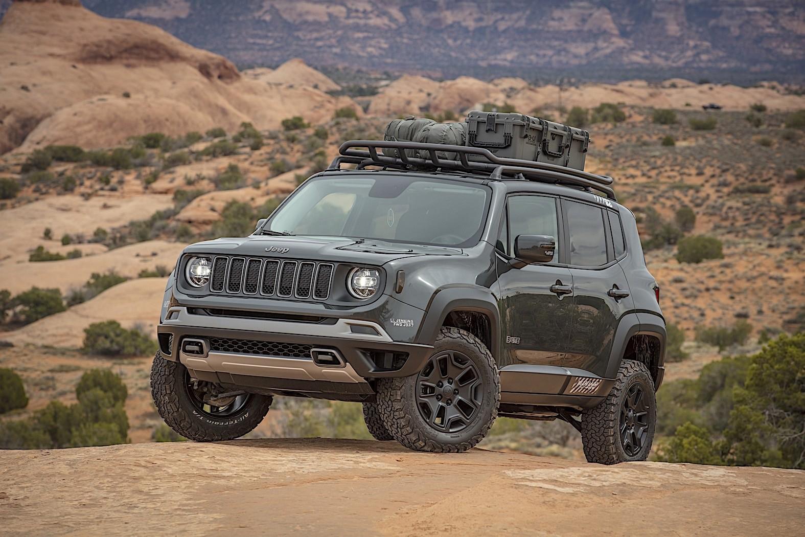 Jeep Wrangler Renegade By Mopar Presented Autoevolution