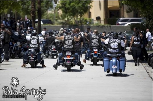 Several Mongols Mc Members Arrested In Palm Spring
