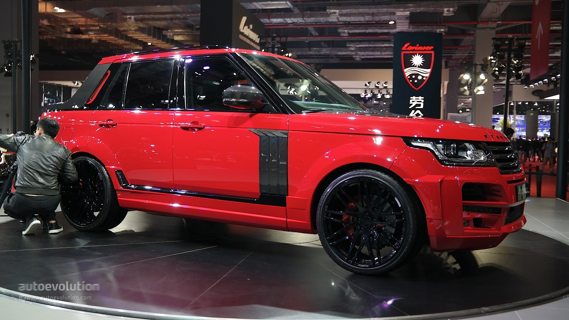 Shanghai 2015 Startech Range Rover Pickup Is Red Hot And