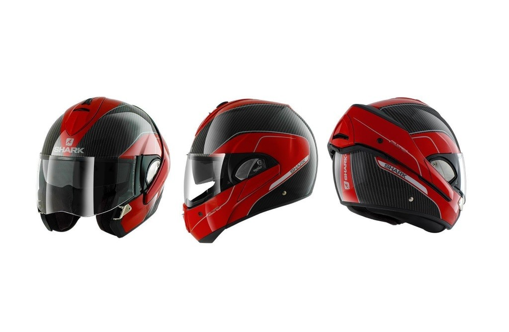 Carbon Fiber Motorcycle Helmet >> Shark Evoline 3 Modular Helmet Now Available in Carbon Fiber - autoevolution