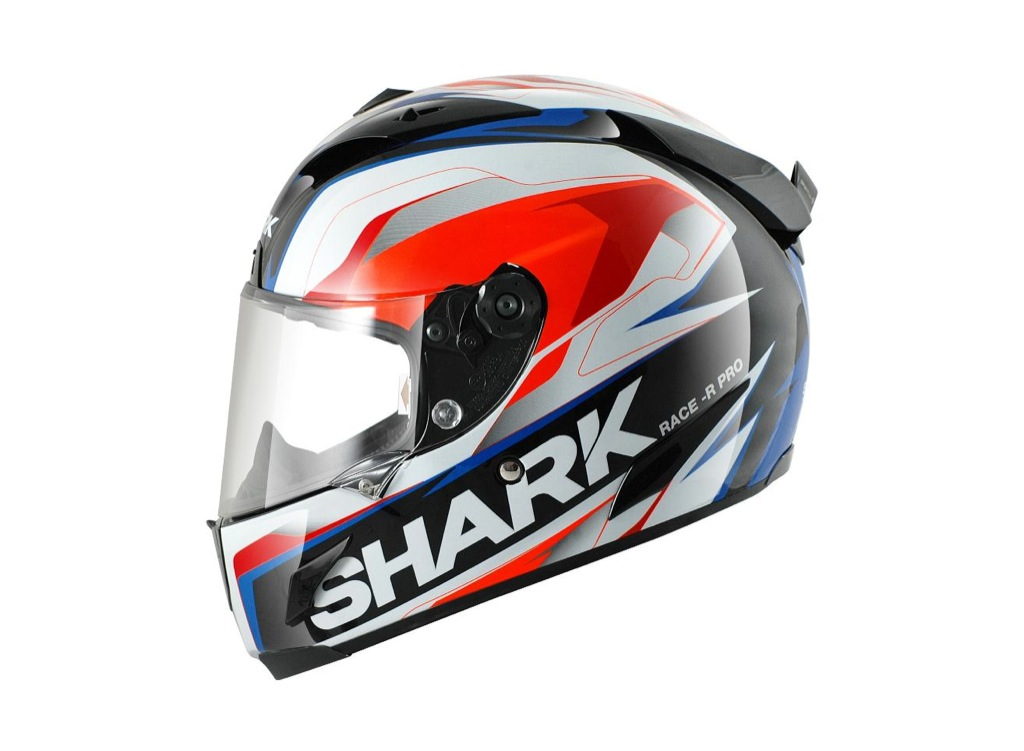 shark unveils new racerr pro helmet paint schemes