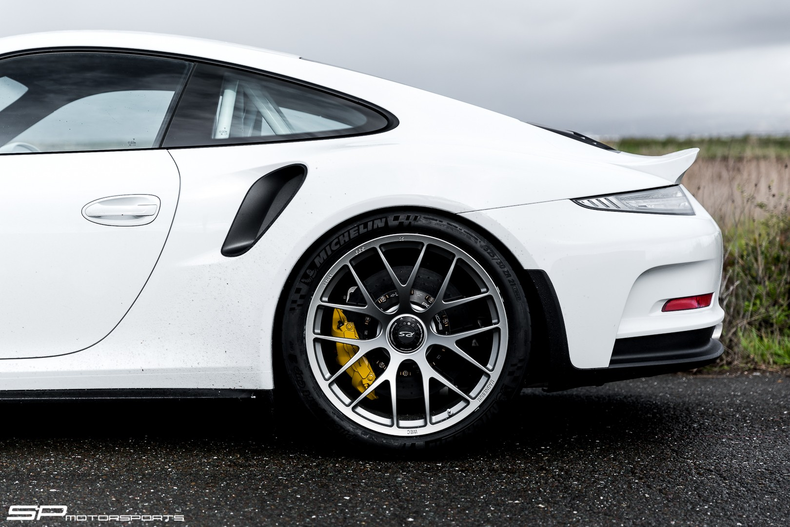 shaved porsche 911 gt3 rs with bbs wheels has a roll cage. Black Bedroom Furniture Sets. Home Design Ideas