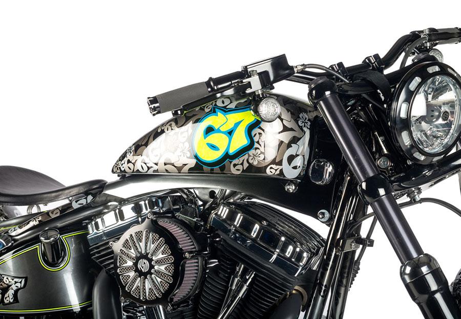 Shaw Speed Amp Custom Harley Davidson For Shakey Byrne