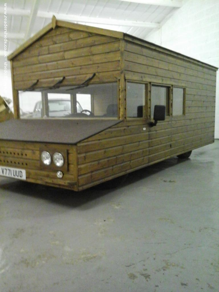 Shed On Wheels Built On A Volkswagen Chassis Set To Break