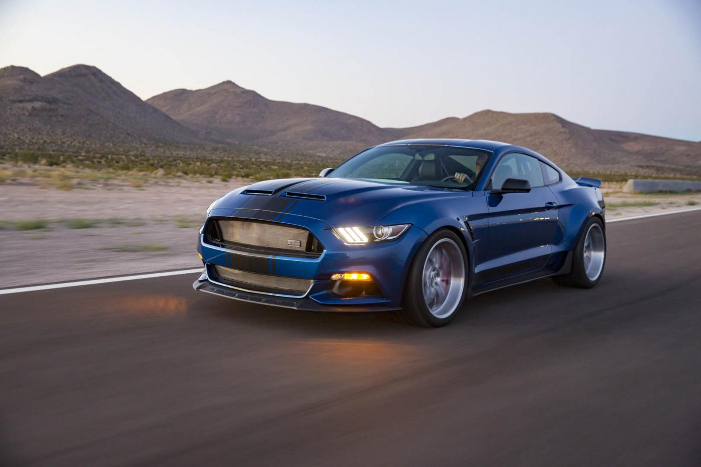 shelby american s new concept car is a widebody mustang autoevolution. Black Bedroom Furniture Sets. Home Design Ideas