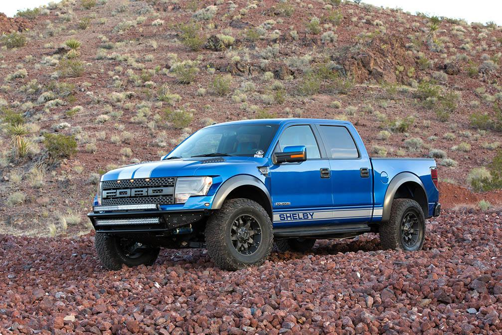 Shelby Baja 700 is an Extreme Take on the Ford F-150 SVT Raptor