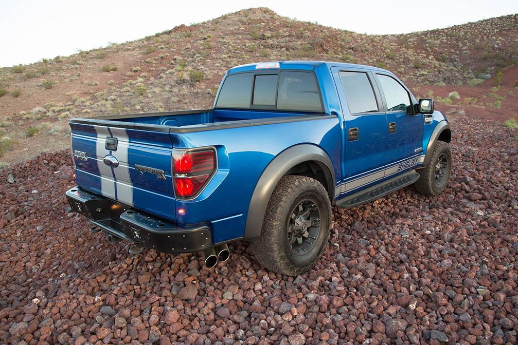 Shelby Baja 700 is an Extreme Take on the Ford F-150 SVT Raptor – Photo Gallery - autoevolution