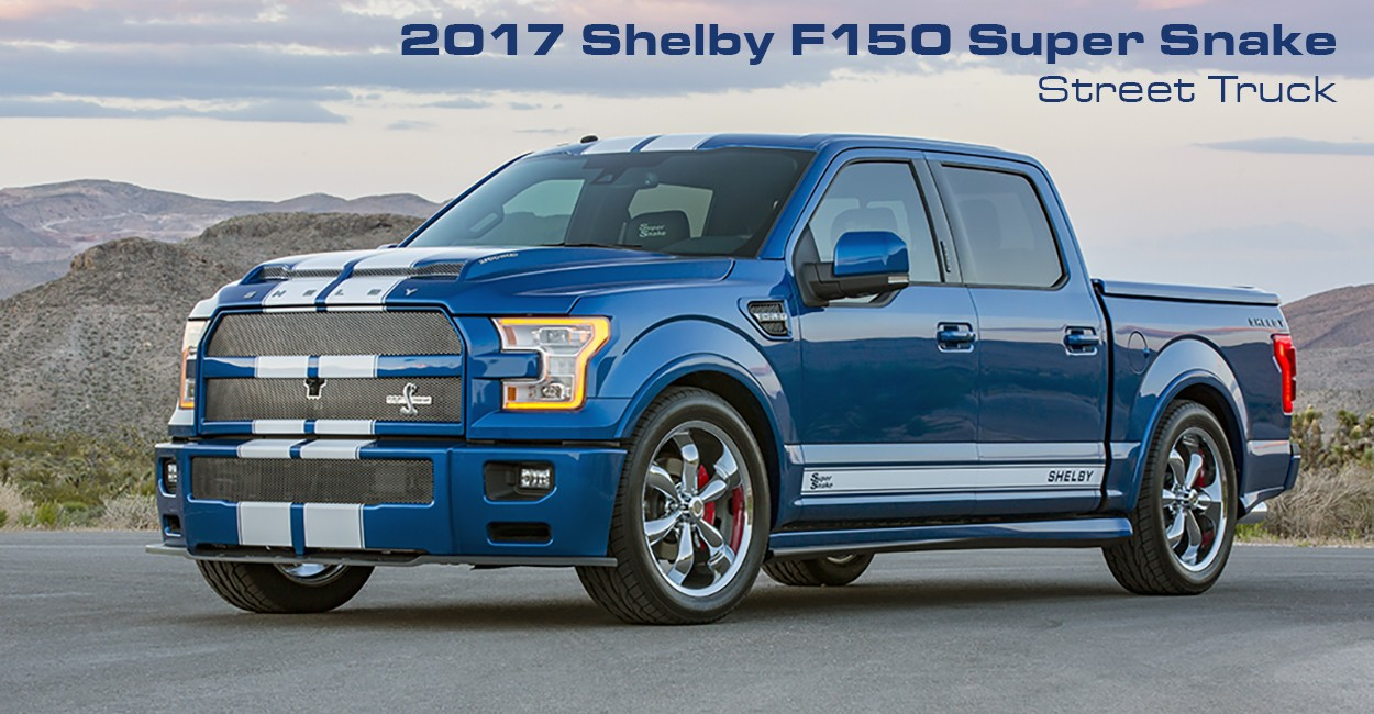 Ford F150 Cobra Truck >> Shelby Muscles Up The Ford F-150 To 750 HP - autoevolution