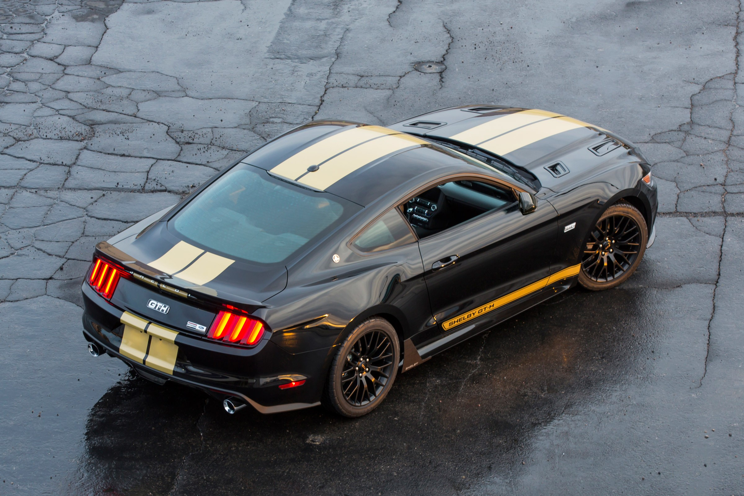 You Can Now Rent a Shelby GT-H Mustang from Hertz ... Mustang
