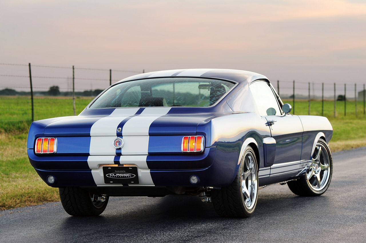 Shelby Gt350cr By Classic Recreations Revealed Autoevolution