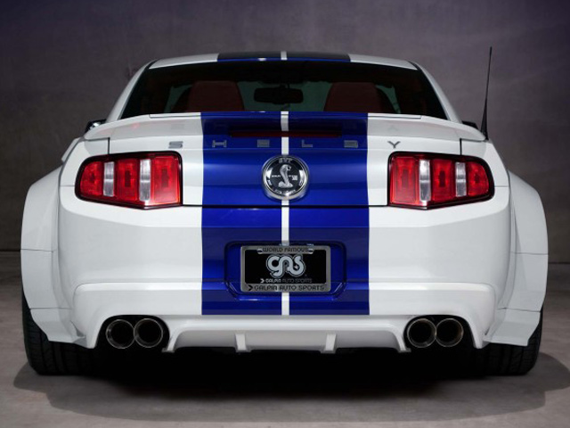 shelby gt500 gets galpin widebody kit autoevolution. Black Bedroom Furniture Sets. Home Design Ideas