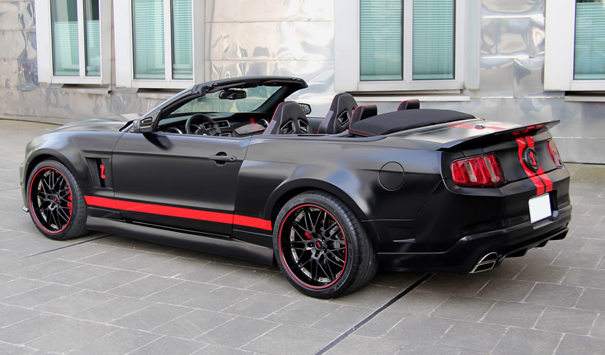 shelby gt500 gets super venom treatment from anderson germany wallpaper gallery world black shelby 500
