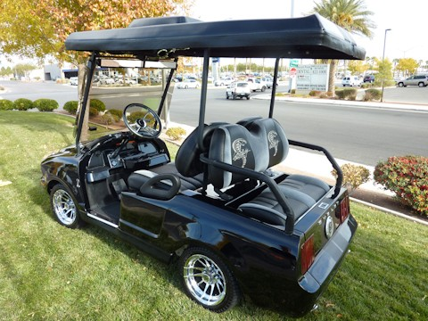 Shelby Mustang Gt500kr Golf Cart For Sale Autoevolution