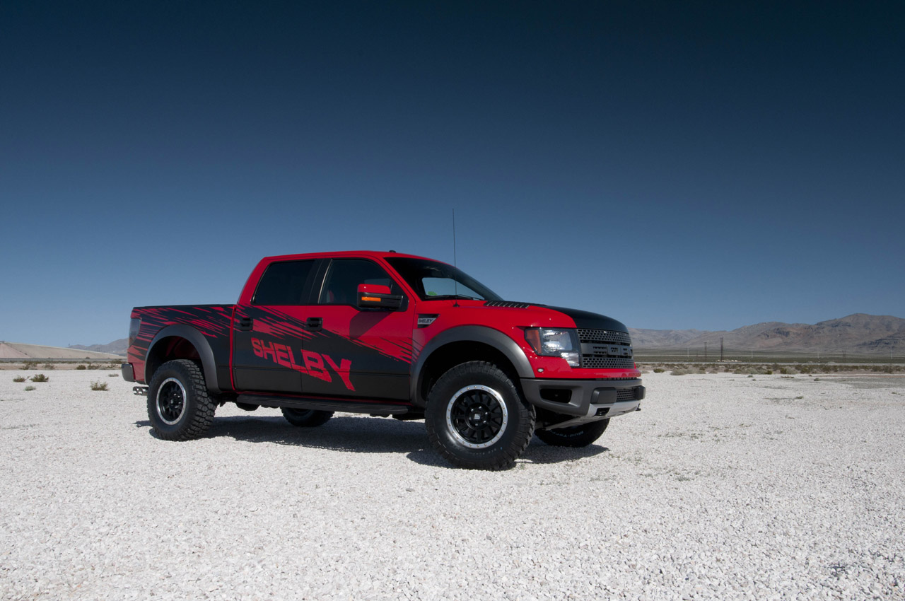 Shelby Raptor is the Ultimate Muscle Truck - autoevolution