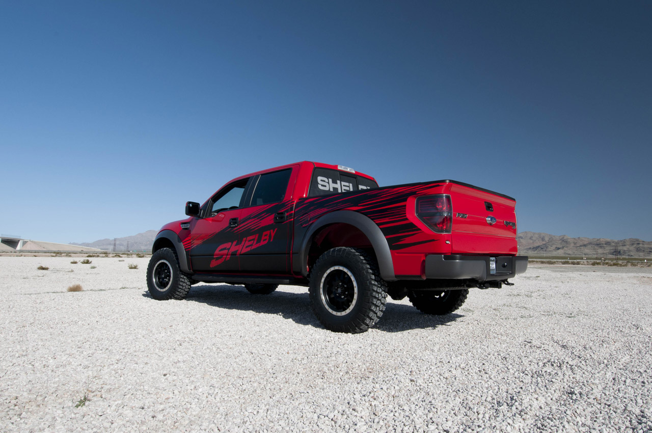Shelby Raptor Is The Ultimate Muscle Truck Autoevolution