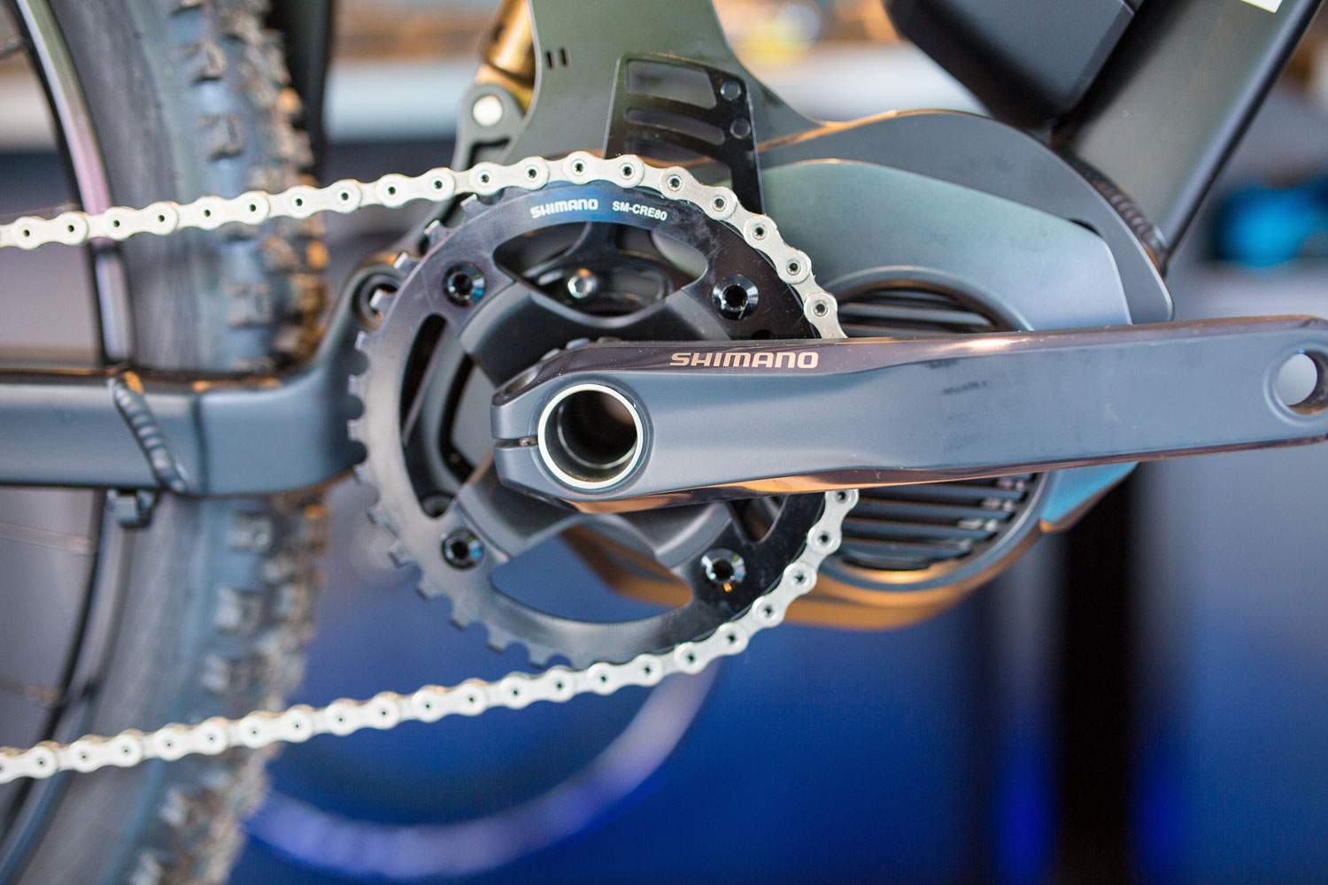 C4 On The Go >> Shimano Shows E8000 Electric Assist Motor for Mountain ...
