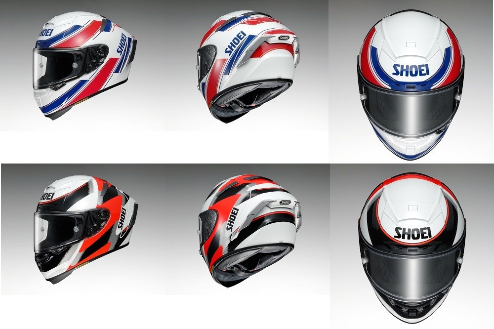 Shoei Launches New 2017 Rf Sr Helmet And New Graphics