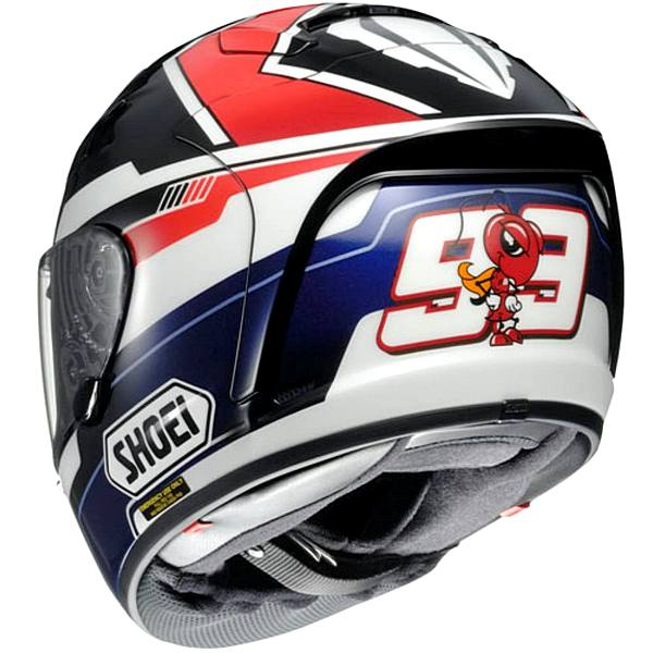 shoei launches x spirit ii replica marc m rquez 2013 helmet autoevolution. Black Bedroom Furniture Sets. Home Design Ideas