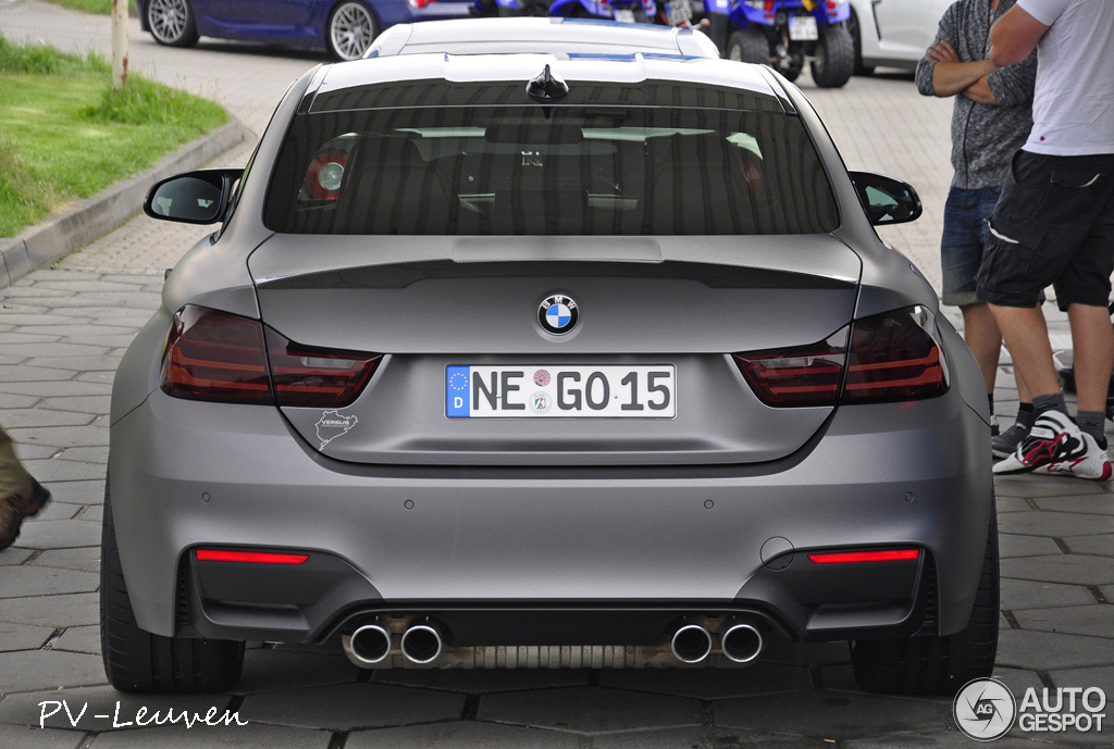 showstopper: frozen grey bmw m4 spotted - autoevolution