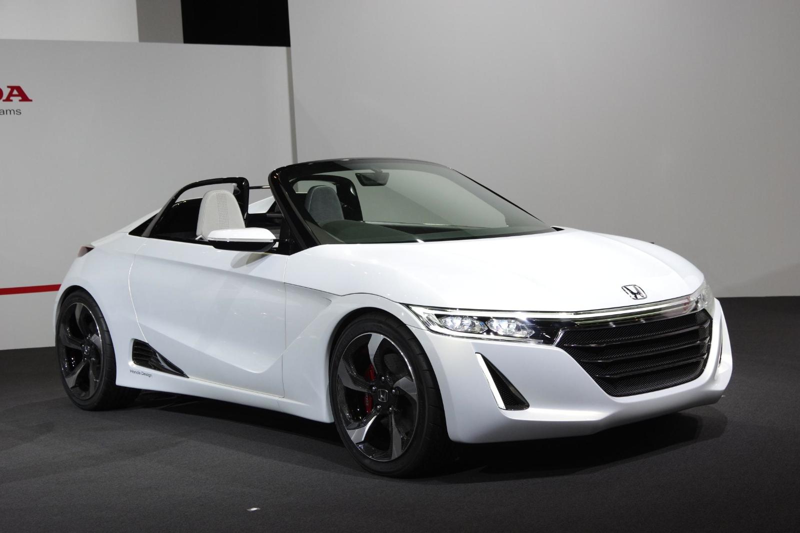 Shrunken NSX Honda S660 Kei Sportscar Coming In 2015