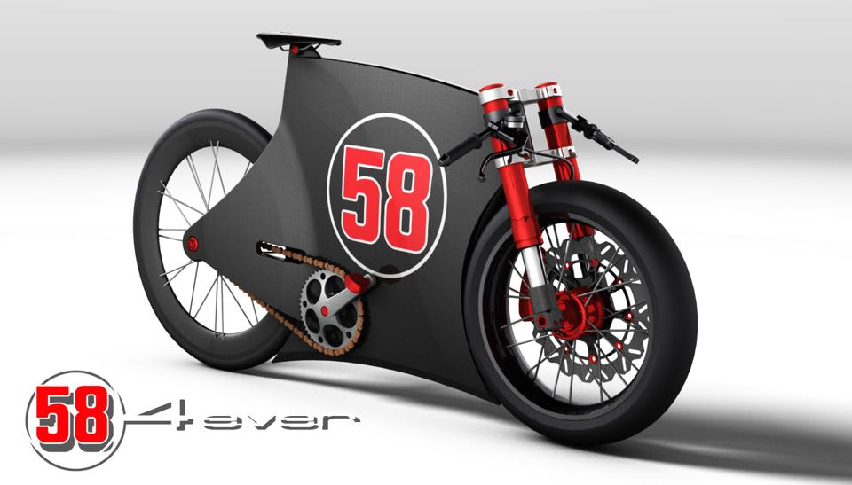 Sic 4ever Marco Simoncelli Tribute Bike Concept By Paolo