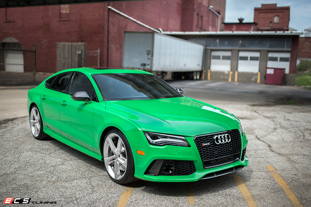 Signal Green Audi RS7 Is Seriously Cool - autoevolution