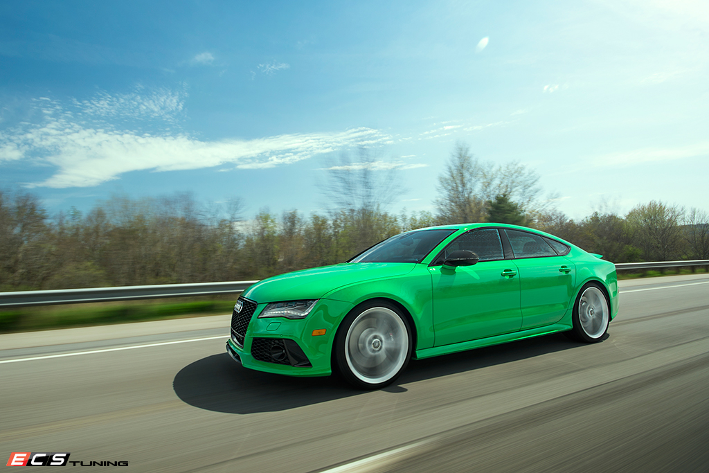 Signal Green Audi Rs7 Is Seriously Cool Autoevolution