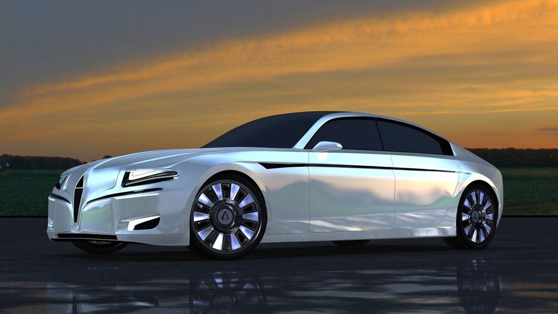 Silex Power Unveils Overly Ambitious Electric Luxury Sedan