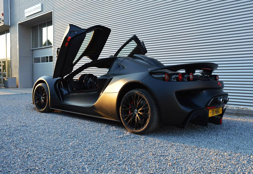 Sin Rs Is The Name Of A Mad Supercar Coming From Bulgaria