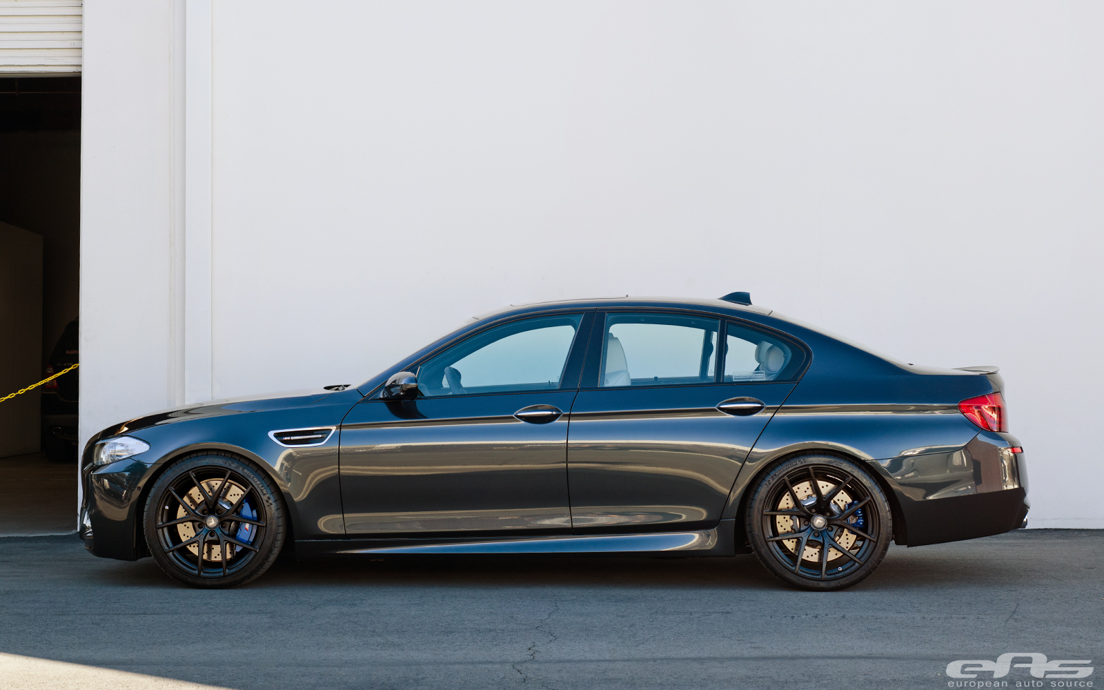 Singapore Gray F10 M5 Gets New Shoes At Eas Autoevolution