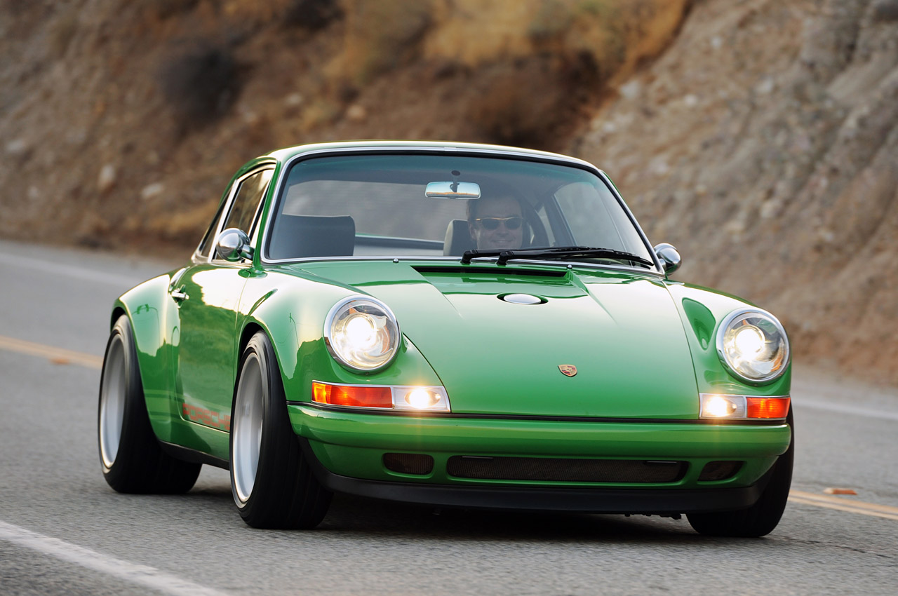singer mixes new porsche 911 with old one autoevolution
