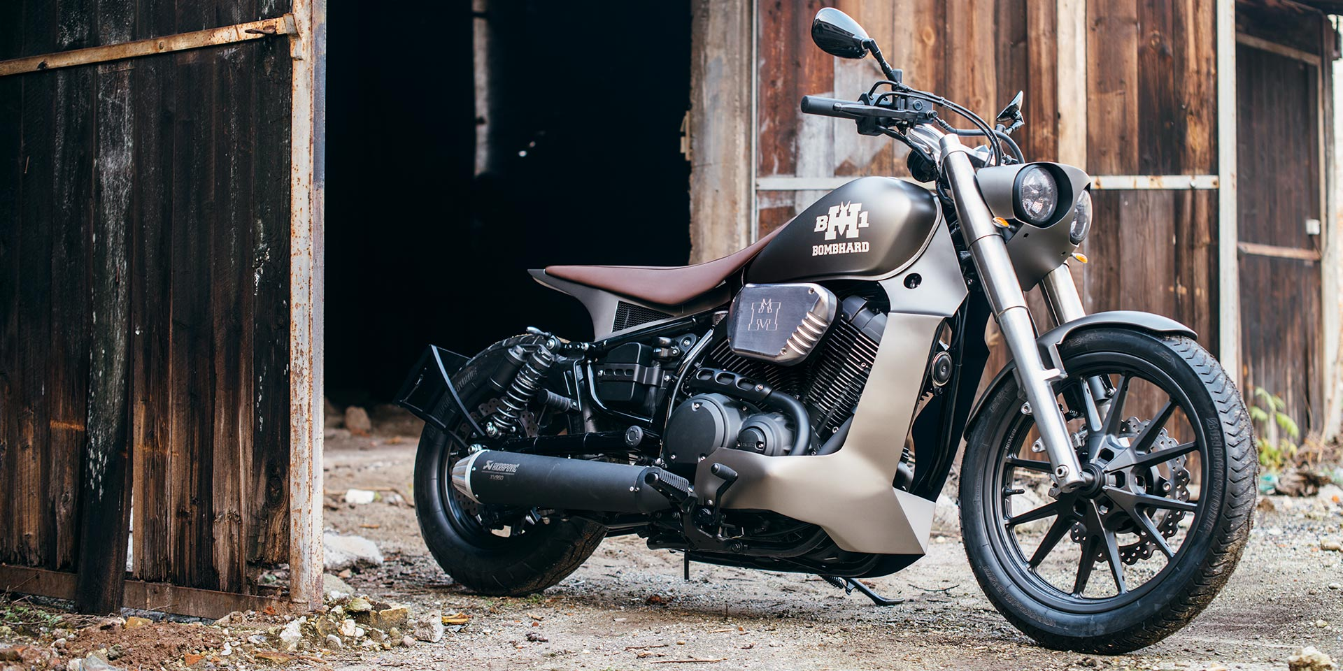 Six amazing custom star bolt in the garage challenge pick for Garage yamaha scooter