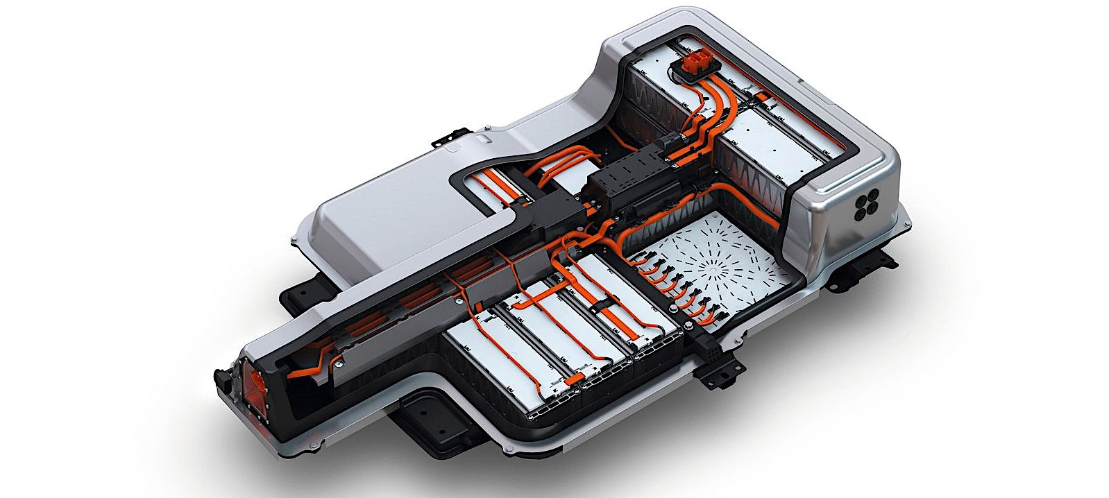 Battery Pack For Electric Vehicles Unit From Volkswagen Pictured
