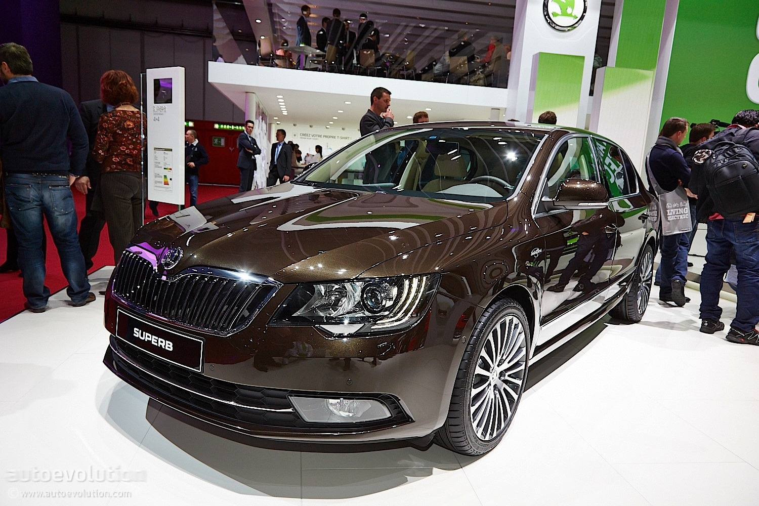 Skoda Brings Luxury At Geneva Through Laurin And Klement