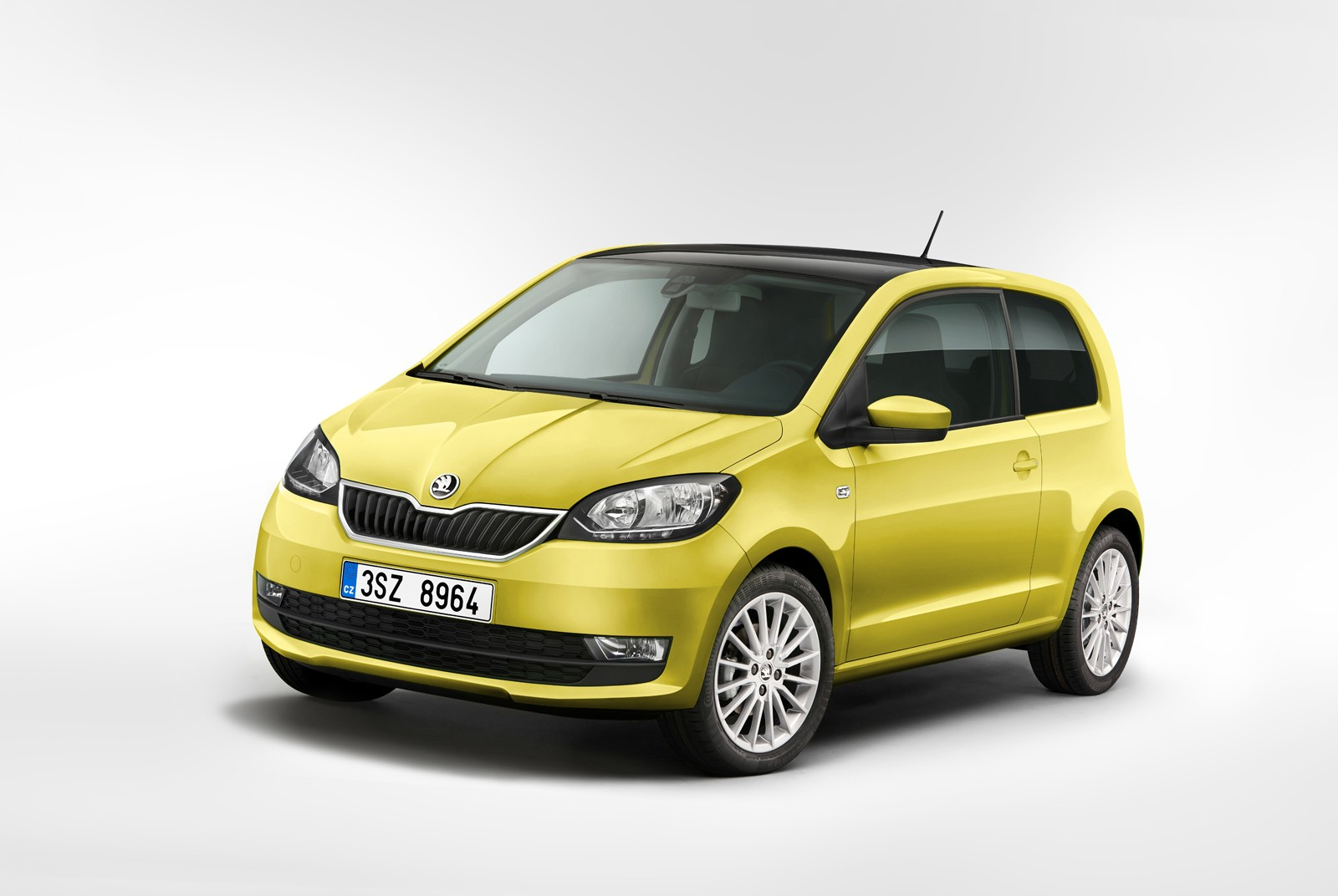 skoda citigo facelift revealed seems modeled after fabia autoevolution. Black Bedroom Furniture Sets. Home Design Ideas