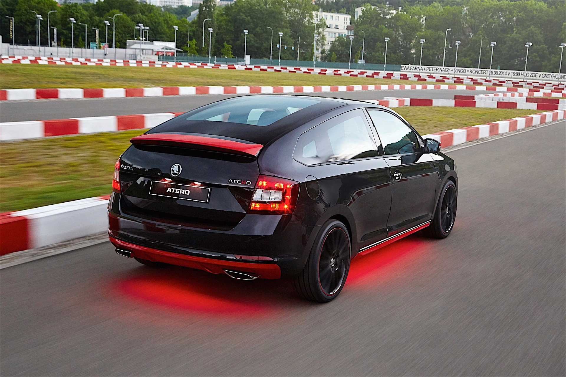 Skoda S Vocational Students Build One Off Coupe Concept Won T Reach Production Autoevolution