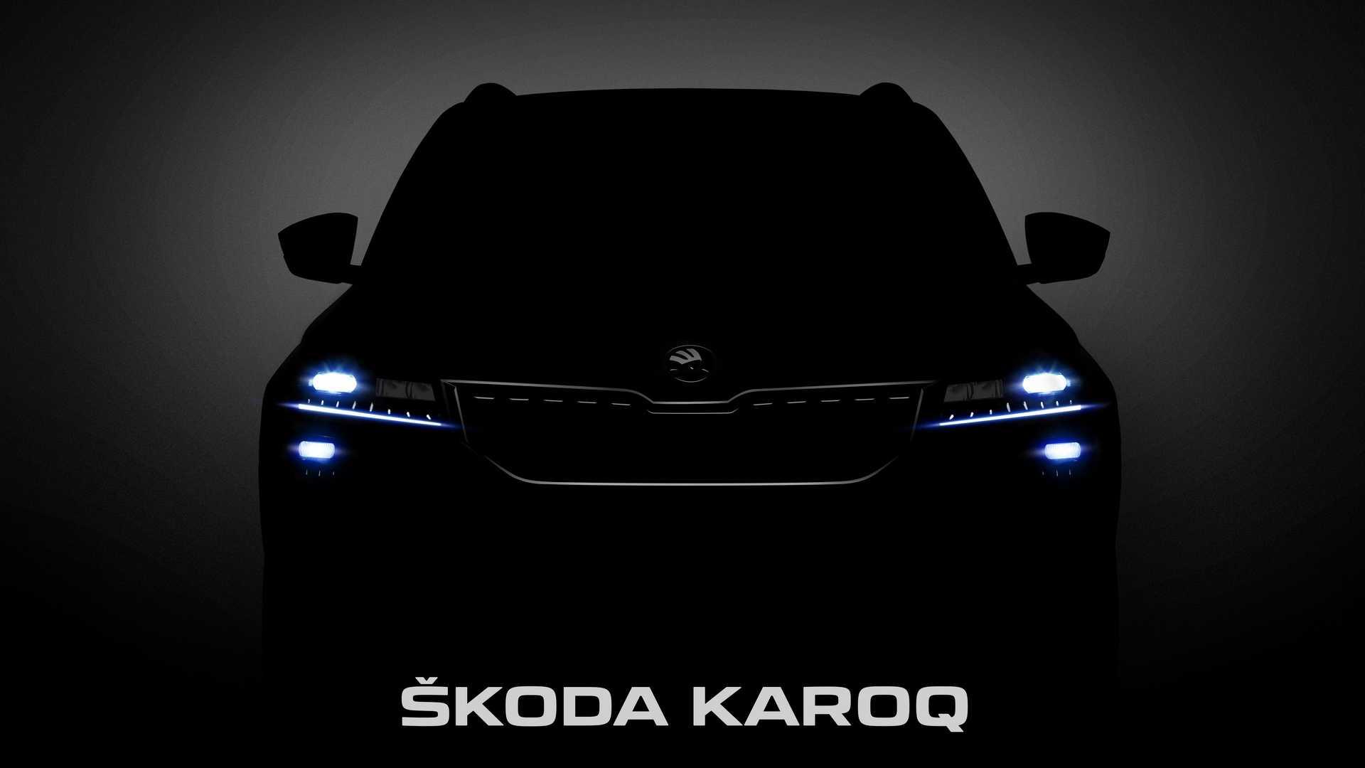 2018 Skoda Karoq Says Hi In New Batch Of Teaser Photos Autoevolution