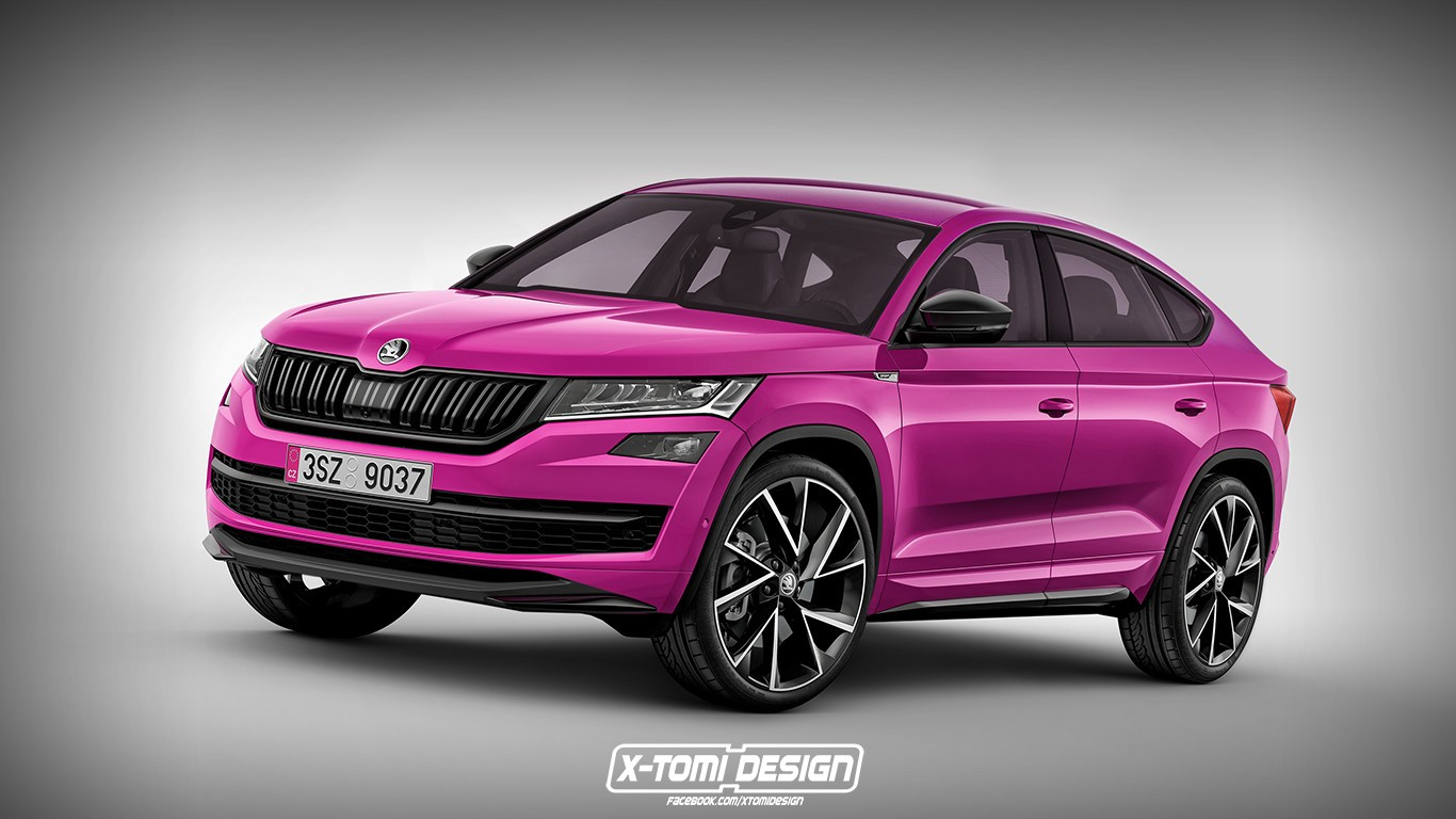 Skoda Kodiaq Rs Rendering Looks So Good That It S