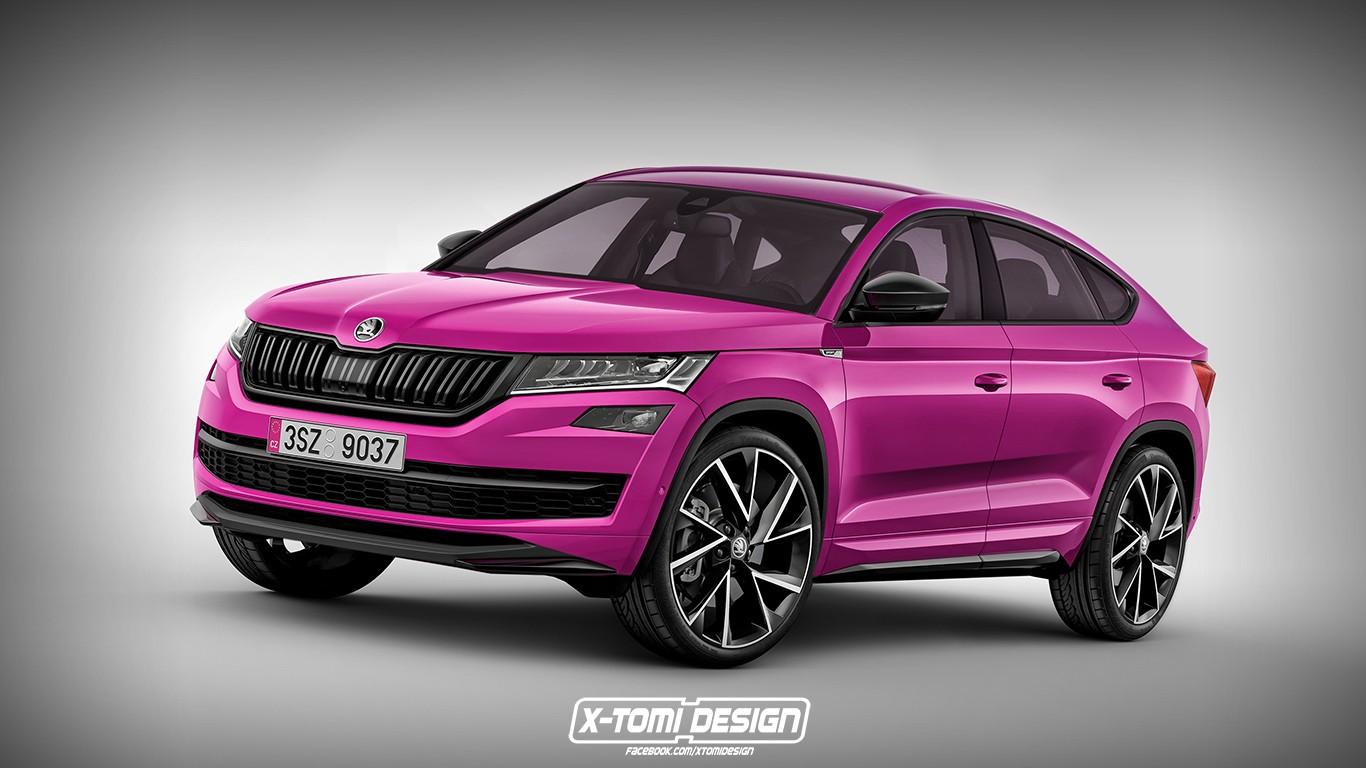 Skoda Kodiaq Coupe Probably Won't Look Like This - autoevolution